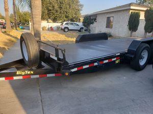 2017 Big Tex 18 ft Heavy duty tilt trailer for Sale in Pomona, CA