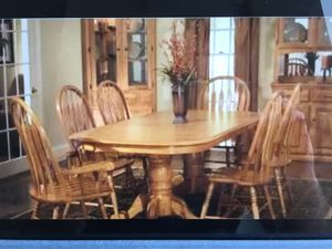 Dining Table with 6 chairs and 1 bench for Sale in Boston, MA
