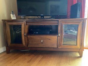 Real wood TV stand for Sale in Bellevue, WA
