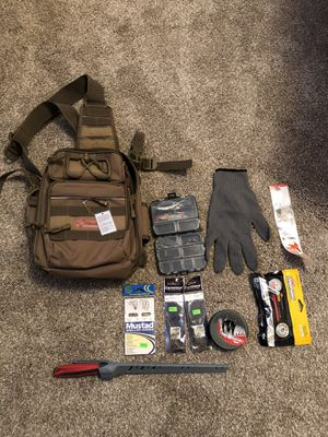Backpack w/ Fishing Supplies for Sale in Soquel, CA