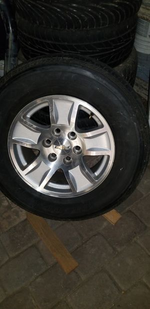 2017 17 RIMS AND TIRES for Sale in Norwalk, CA