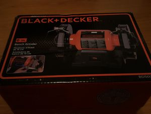 1 New in the box Black and Decker 6 inch bench grinder for Sale in Cleveland, OH