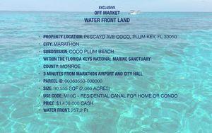 Vacant Land Marathon Fl. 2 acres for Sale for sale  Miami, FL