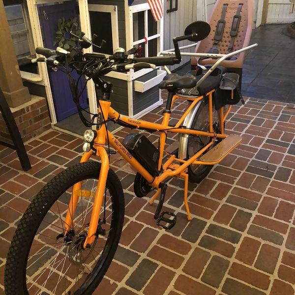 Radwagon Cargo Family Bicycle With Yepp Maxi