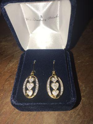 "Danbury Mint ""I Love You"" Earrings for Sale in Vancouver, WA"