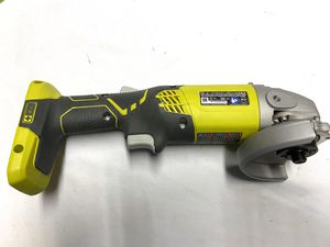 yobi P421 6500 RPM 4 1/2 Inch 18-Volt One+ Lithium Ion-Powered Angle Grinder for Sale in Industry, CA