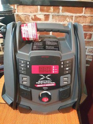 Schumacher Battery Extender 12-Volt 1,200 Amp Battery Jump Starter for Sale in Rialto, CA