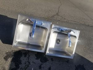 Stainless steel Kitchen sink with faucet for Sale in Vancouver, WA