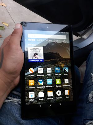 Amazon tablet fire for Sale in Fort Worth, TX