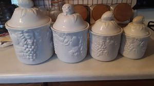 Kitchen Canister Set. Excellent condition for Sale in Lafayette, IN