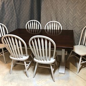 Solid Wood Dining Room Table for Sale in Littleton, CO