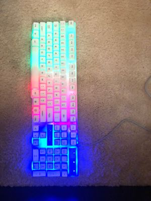 Light up gaming Keyboard for Sale in Chino, CA