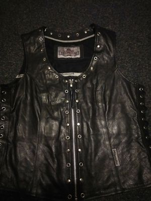 Milwaukee Leather Motorcycle Vest for Sale in Muskegon, MI