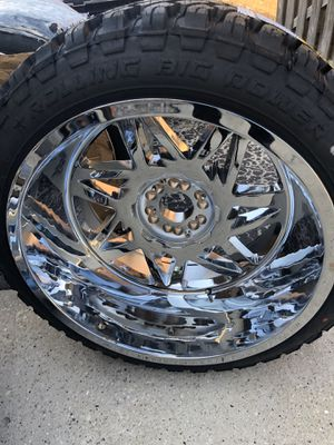 Ford F150 Wheels Tires Rims 24s for Sale in Oak Lawn, IL