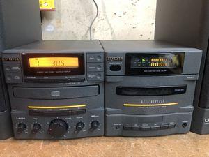 Aiwa mini stereo system RDX-01YU for Sale in Montclair, NJ