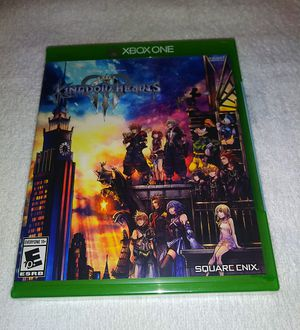 Kingdom Hearts lll XBox One for Sale in Palm Springs, CA