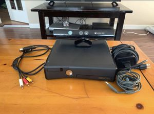 Xbox 360 with Kinect and games *NO CONTROLLER* included for Sale in Redlands, CA