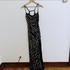 Precious Formals prom / formal dress with sequins & slit for Sale in Oklahoma City, OK