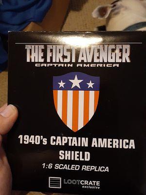 Captain America replica shield for Sale in Lakewood, WA