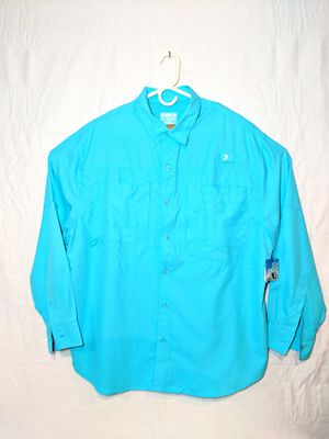 Mens New Outdoor Vented Fishing Shirt sz XL for Sale in Eldersburg, MD