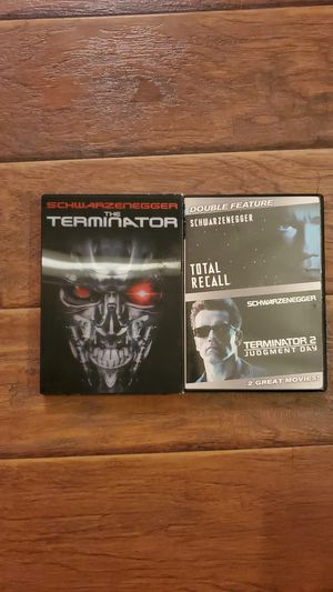 DVD - Terminator 1&2 + Total Recall for Sale in San Clemente, CA