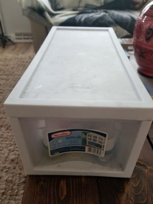 Plastic drawer for Sale in Norfolk, VA