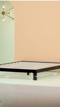 Zinus Arnav Modern Studio 10 Inch Twin Platform 2000 Metal Bed Frame / Mattress Foundation / No Box Spring Needed for Sale in Fresno,  CA