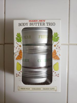Trader Joe's body butter trio for Sale in Springfield, OR