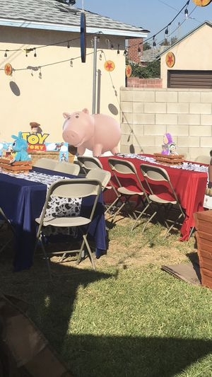 Toy story theme table covers party for Sale in South Gate, CA