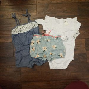 Girls Clothes 12months All For $10 for Sale in Hayward, CA