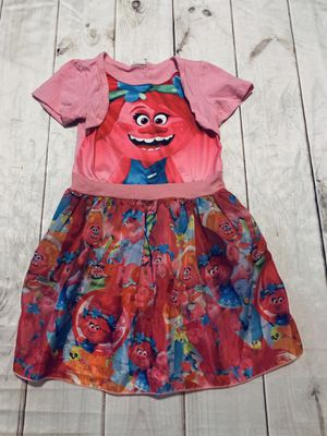 Cute Trolls Dress - Size 6 for Sale in Eden, NC