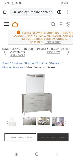 Ashley Dresser &' Mirror for Sale in Columbus, OH