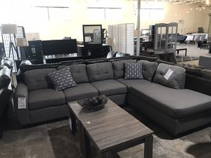 Grey Reversible Sectional ‼️Black Friday Sale‼️ for Sale in Dallas, TX