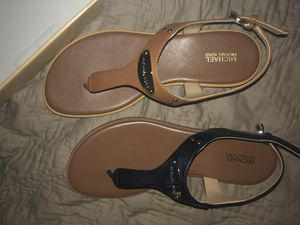 MICHAEL Kors sandalS 2/80.00 or 35.00 each for Sale in Palm Springs, FL