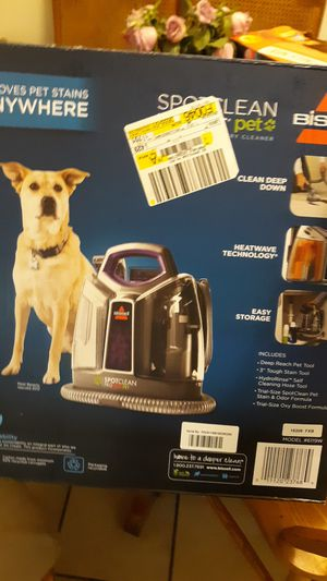 Bissell spot clean proheat pet for Sale in Las Vegas, NV