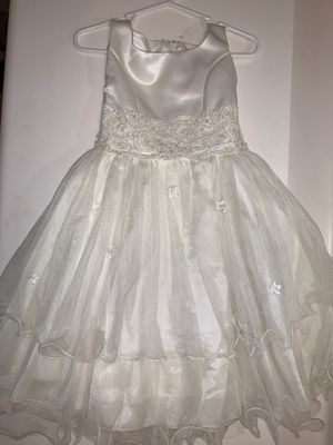 White Formal/Party Dress Girl 1-3yr for Sale in Moreno Valley, CA