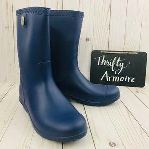 Ugg Sz 7 Sienna Matte Blue Jay Rain Boots for Sale in Houston, TX