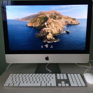 Apple iMac Core i5 - 21.5 inches - Like New - Catalina MacOS for Sale in Huntington Beach, CA