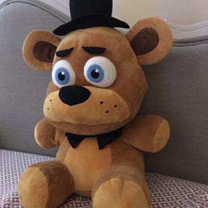 (Freddy) Fnaf = Five Nights At Freddy's 20 Inch Plush for Sale in Ballwin, MO