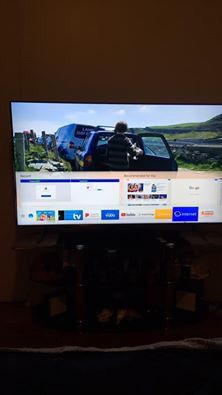Samsung QLED 55 in. Flat Screen Tv for Sale in Columbus, OH