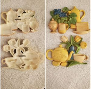 Refreshing lemon and tea with cake wall hanging decor for Sale in Fresno, CA