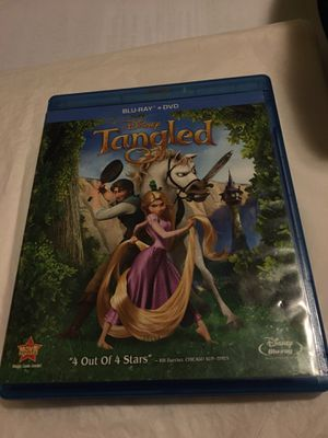 DISNEY TANGLED BLU-RAY + DVD for Sale in Wilmington, DE