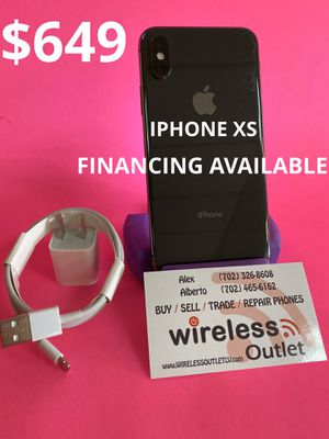 IPHONE XS 64GB T-MOBILE & METRO PCS!!! FINANCING AVAILABLE!!! for Sale in Las Vegas, NV