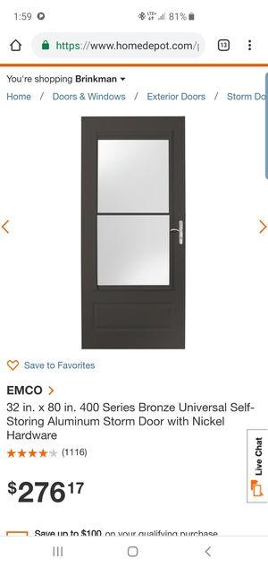 Brand new screen door for Sale in San Antonio, TX