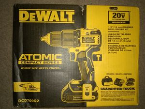 DeWalt 20 v Atomic hammer drill/ driver kit for Sale in Las Vegas, NV