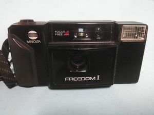 "Vintage ""Minolta Freedom 1"" 35 mm camera for Sale in Wolcott, CT"