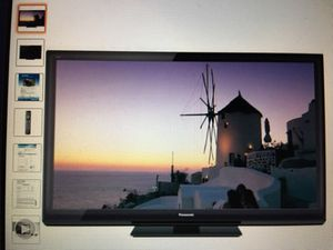 "Panasonic 55"" inch 3d plasma tv for Sale in Gaithersburg, MD"