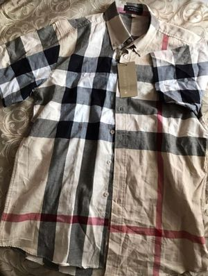 Burberry Button Up for Sale in MIDDLE CITY EAST, PA
