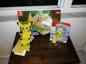 Pokemon pikachu bundle for Sale in Pinellas Park, FL