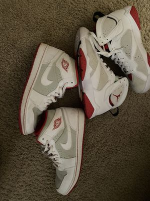 Jordan hare 7 and 1. Size 9.5 for Sale in Redmond, WA